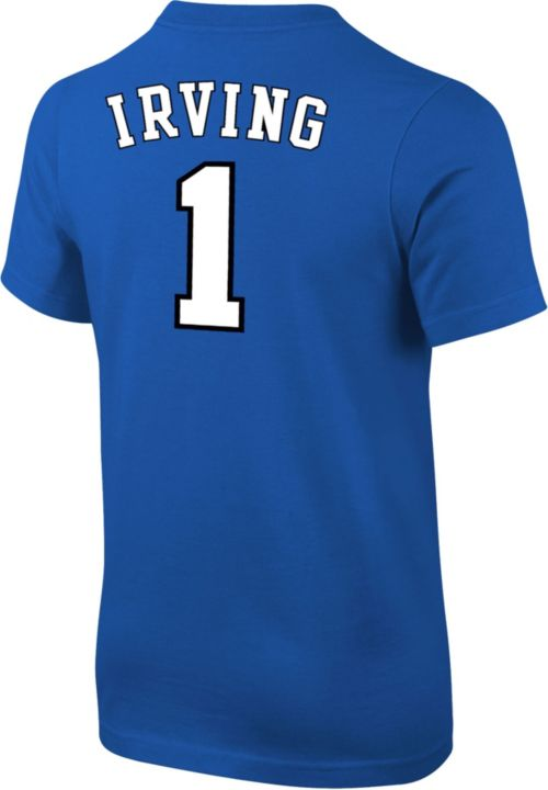 30efc9a5f336 Nike Youth Duke Blue Devils Kyrie Irving  1 Duke Blue Future Star ...