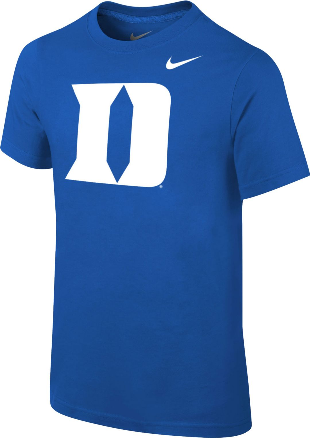 5c6ee45f Nike Youth Duke Blue Devils Kyrie Irving #1 Duke Blue Future Star Replica  Basketball Jersey T-Shirt