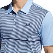 adidas Men's Ultimate365 Striped Colorblock Golf Polo product image