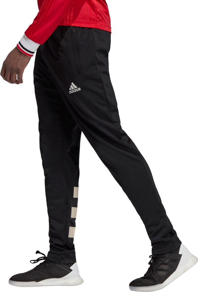 Adidas Men S Manchester United Icons Black Pants