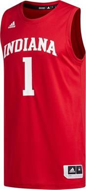 adidas Men's Indiana Hoosiers #1 Crimson Creator 365 Replica Basketball Jersey product image