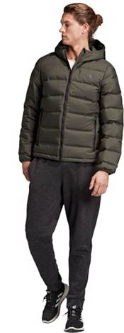 adidas Men's Helionic Down Hooded Jacket product image