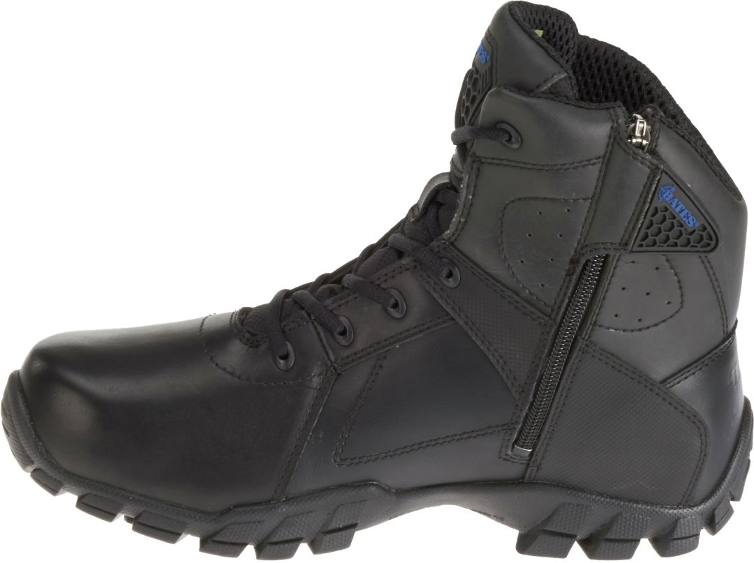 """uk cheap sale hot new products clearance prices Bates Men's Strike 6"""" Side Zip Waterproof Work Boots 