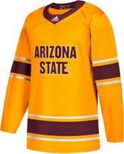 adidas Men's Arizona State Sun Devils Gold Replica Hockey Jersey product image