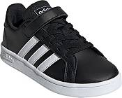 adidas Kids' Preschool Grand Court Strap Shoes product image