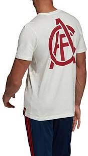 adidas Men's Arsenal DNA Graphic White T-Shirt product image