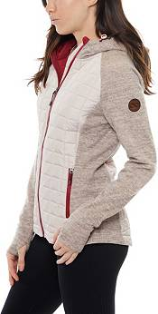 Be Boundless Quilted Poly Active Knit Hooded Jacket product image