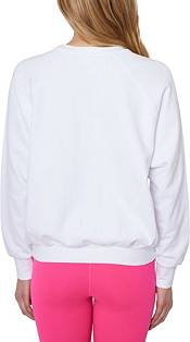 Betsey Johnson Women's Love Threaded Embroidery Sweatshirt product image