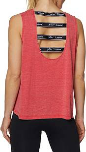 Betsey Johnson Women's Logo Band Muscle Swing Tank Top product image