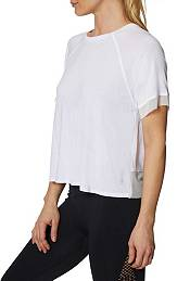 Betsey Johnson Women's Tulip Back Raglan Tee product image