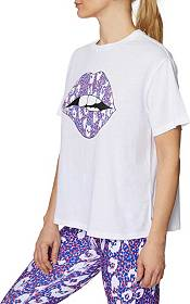 Betsey Johnson Women's Lips and Leopard Tee product image