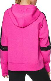 Betsey Johnson Women's Clear Taping Half Zip Pullover product image