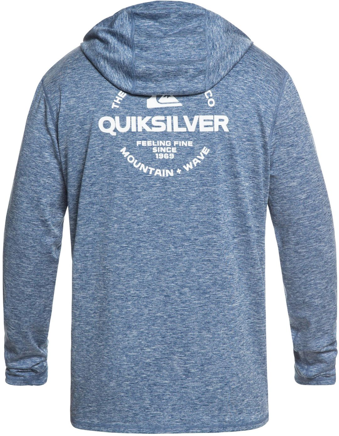 bfd2be335253 Quiksilver Men's Dredge Hooded Long Sleeve Rash Guard | DICK'S ...