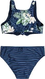 Roxy Girls' Heaven Wave Crop Top Bikini product image