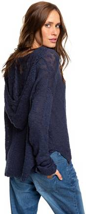Roxy Women's Sandy Bay Beach Knitted Hooded Poncho product image
