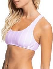 Roxy Women's Sea & Waves Reversible Athletic Bikini Top product image