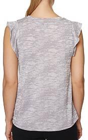 Betsey Johnson Women's Ruffle Muscle Swing Tank Top product image