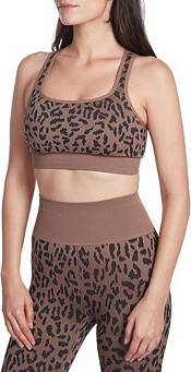 Betsey Johnson Women's Cheetah Print Racerback Sports Bra product image