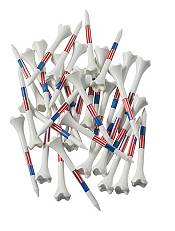 Pride Sports 3.25'' American Flag Golf Tees - 33 Pack product image