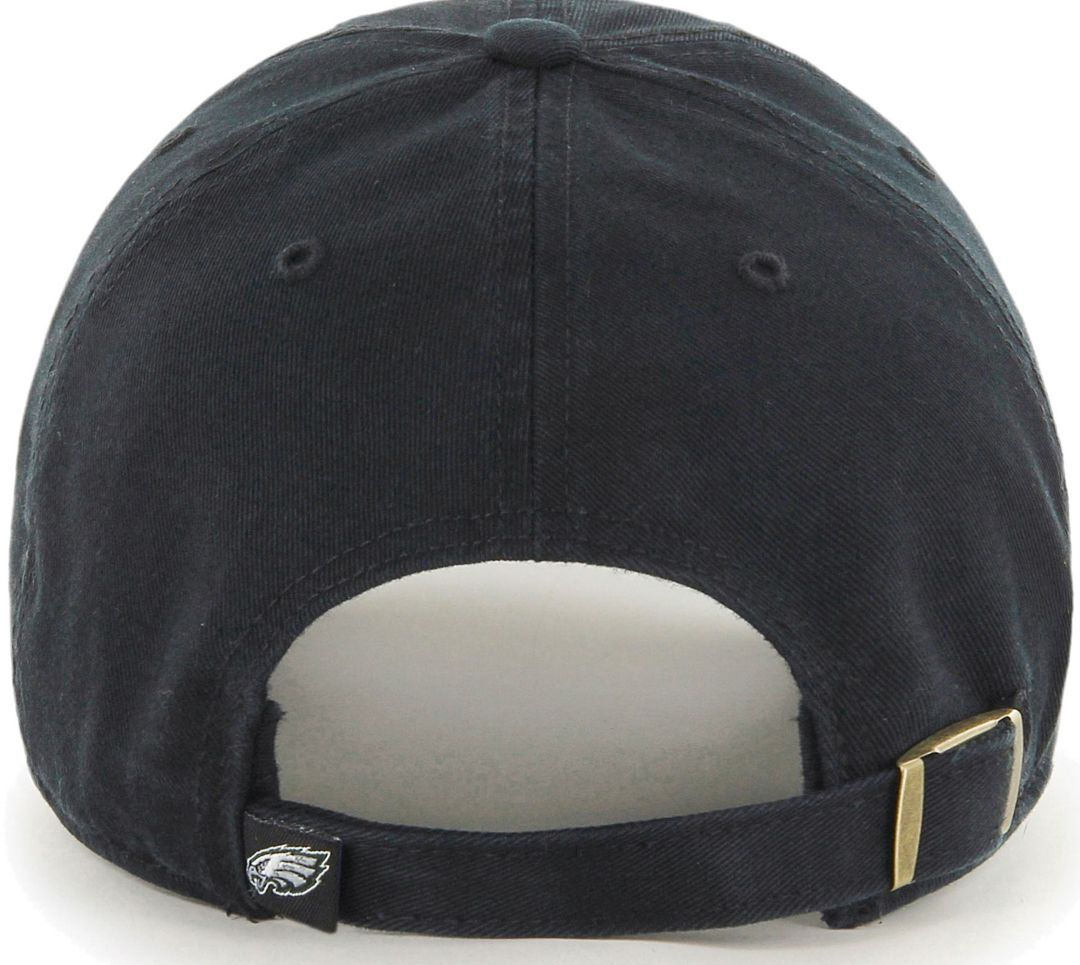 big sale 2ed85 7f1a7 47 Men s Philadelphia Eagles Clean Up Black Adjustable Hat   DICK S ...