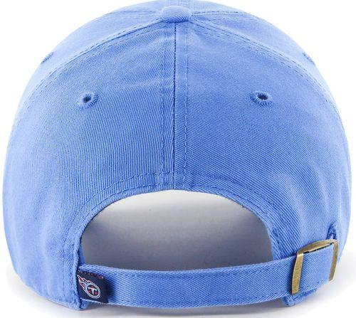online retailer c4acd 35afc  47 Men s Tennessee Titans Clean Up Blue Adjustable Hat 2