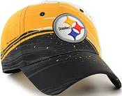 '47 Men's Pittsburgh Steelers Splash Solo Black Stretch Fit Hat product image