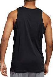 adidas Men's Heathered Basketball Sleeveless Shirt product image