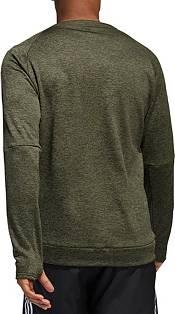 adidas Men's Own The Run 3-Stripes Crew Sweatshirt product image