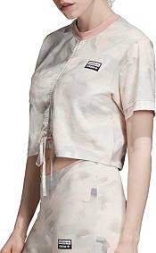 adidas Originals Women's Vocal Camo Ruched T-Shirt product image