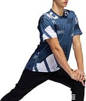 adidas Men's FreeLift Daily Print Graphic T-Shirt (Regular and Big & Tall) product image