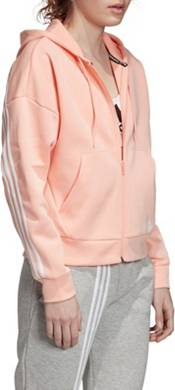 adidas Women's Must Have 3-Stripes Full Zip Hoodie product image