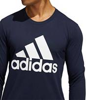 adidas Men's Basic Badge of Sport Long Sleeve Shirt product image