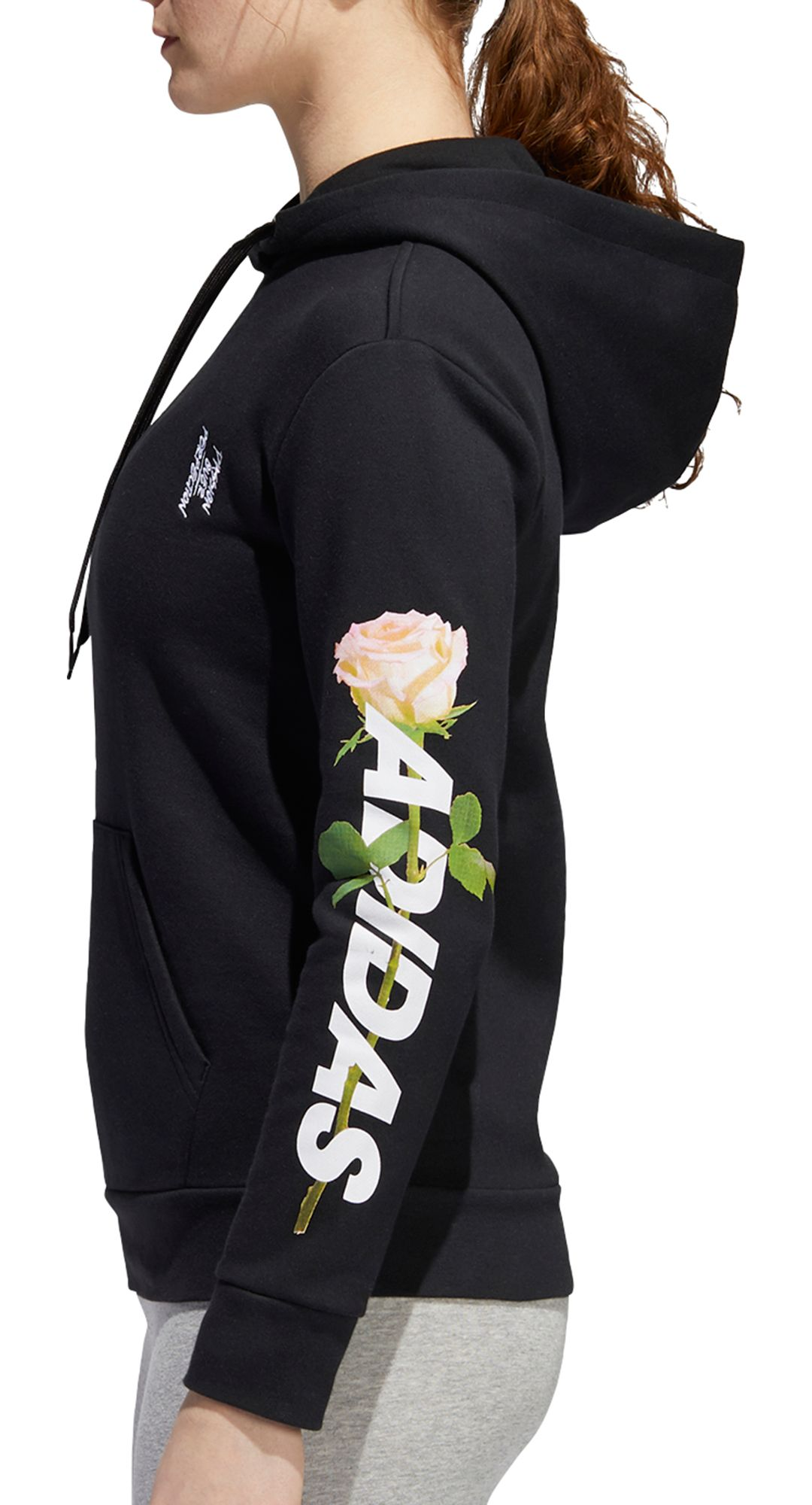 50% off large discount cute adidas Women's Work In Progress Floral Lineage Hoodie