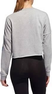 adidas Women's Global Crew Neck Crop Sweatshirt product image