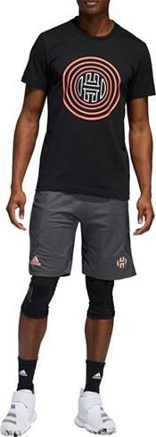 adidas Men's Harden Swagger Basketball Shorts (Regular and Big & Tall) product image