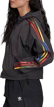 adidas Originals Women's Sonic Trefoil 1/2 Zip Fleece Hoodie product image
