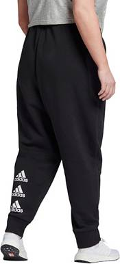 adidas Women's Plus Size Must Haves Badge of Sport Fleece Pants product image