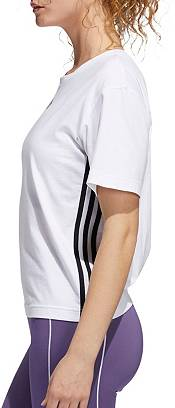 adidas Women's 3-Stripes Cropped T-Shirt product image