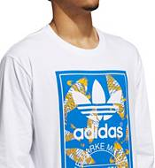 adidas Men's Originals Koi Tongue Label Long Sleeve T-Shirt product image