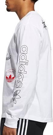 adidas Men's Japan Multi Logo Long Sleeve T-Shirt product image