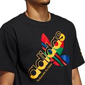 adidas Men's Trefoil Layered Graphic T-Shirt product image