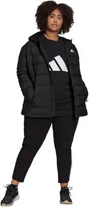 adidas Women's Plus Helionic Hooded Down Jacket product image