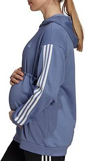 adidas Women's Cotton 3 Stripes Maternity Hoodie product image