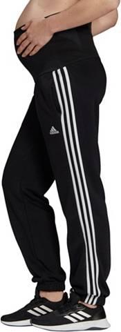 adidas Women's Cotton 3-Stripes Maternity Pants product image