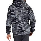 adidas Men's Primegreen Postgame Plaid Pullover Hoodie product image