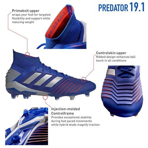 bef2a4769 adidas Women s Predator 19.1 FG Soccer Cleats. noImageFound. Previous. 1.  2. 3