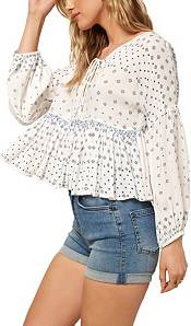 O'Neill Women's Rosie Woven Long Sleeve Top product image