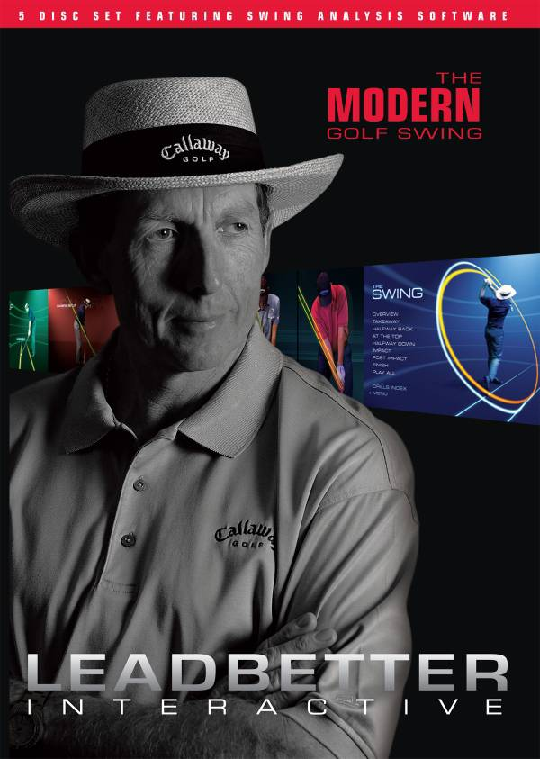 Leadbetter Interactive: The Modern Golf Swing - 5 DVD Set product image