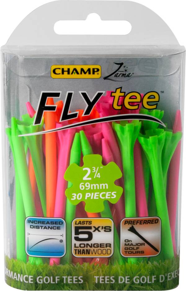 CHAMP Zarma FLYtee 2 3/4'' Neon Golf Tees - 30 Pack product image