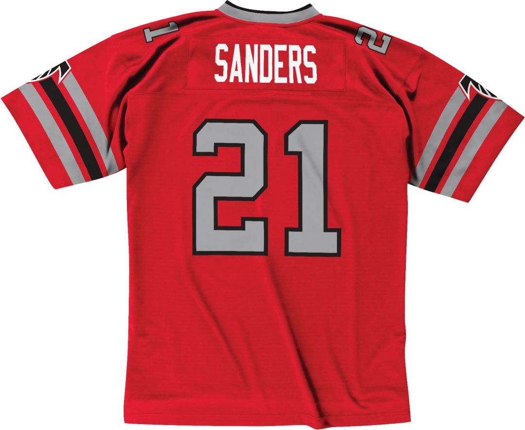 half off 03e4a d6fa7 Mitchell & Ness Men's 1989 Home Game Jersey Atlanta Falcons Deion Sanders  #21